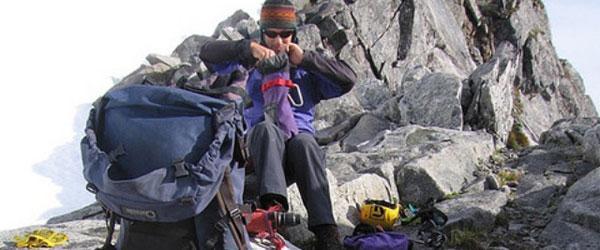 Ropa y equipamiento en el deporte de montaña