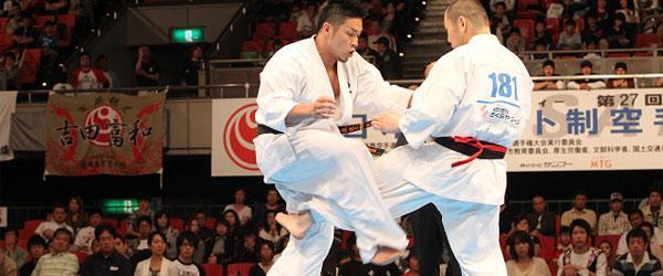 Las tecnicas karate